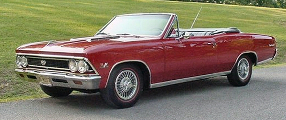 Photo of 1966 Chevrolet Chevelle SS 396 Convertible