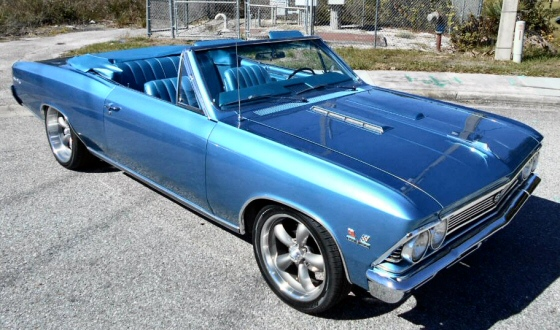Photo of 1966 Chevelle SS 396 Convertible,True 138 SS, 4 Speed
