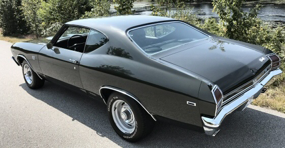 Photo of 1969 CHEVELLE SS 396  COUPE Originally a 4 Speed