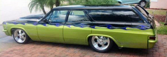 Photo of 1966 Chevy Belair Station Wagon Street Rod