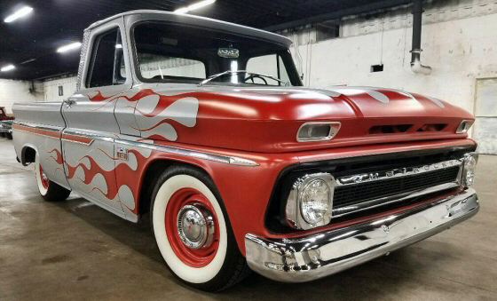 Photo of 1966 Chevy C-10 All Steel  Short Bed Pickup Restored