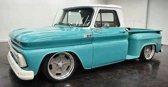 Photo of 1966 Chevy C10 Stepside Pickup With Air Ride