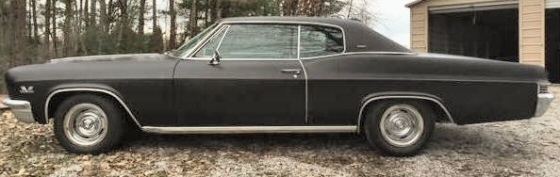 Photo of 1966 Chevy Caprice 2DR Hardtop With Factory 396