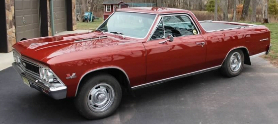 Photo of 1966 Chevrolet El Camino Frame Off Restored