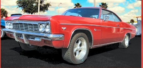 Photo of 1966 Chevrolet Impala 2DR HT With Rebuilt Motor