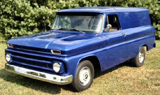 1966 Chevy Panel Delivery Truck