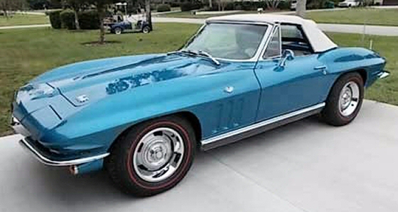 Photo of 1966 Corvette Matching Numbers Convertible Roadster Restored
