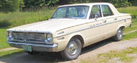 1966 dodge dart Dodge Push Button Car 1960s
