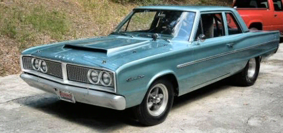 Photo of 1966 Dodge Coronet 2 DR  Post With 511 CI HEMI Motor