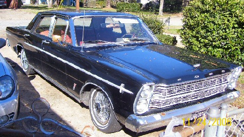 1966 Ford Galaxie 4 DR Hardtop