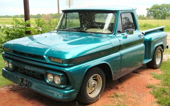 1966 GMC STEPSIDE PICKUP