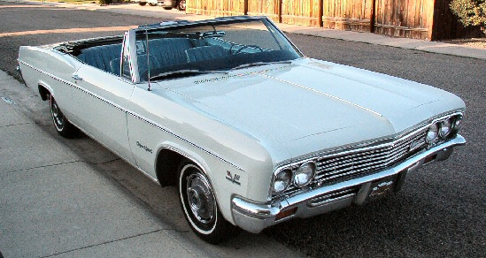 1966 chevy impala ss convertible for sale