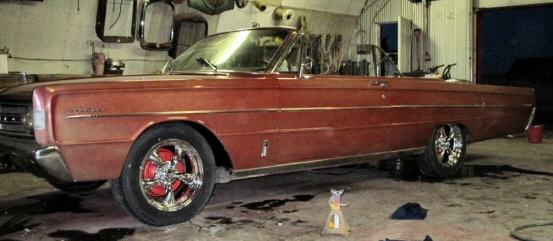 1966 Ford Mercury Meteor Convertible