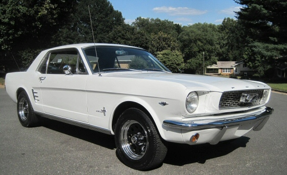 Photo Of 1966 Mustang Pony Car