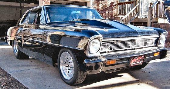 1966 Chevrolet Nova Pro-Street Roller