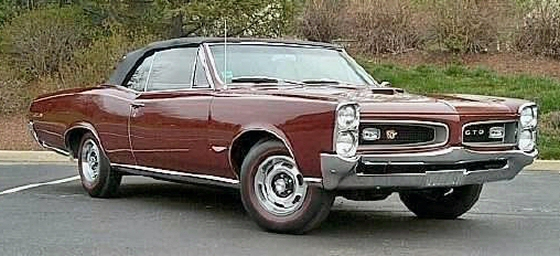 Photo of 1966 PONTIAC GTO CONVERTIBLE NUMBERS MATCHING