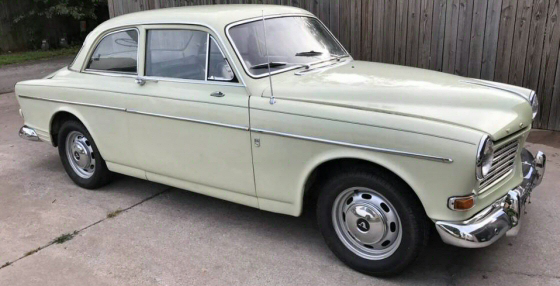 Photo of  1966 Volvo 122S 2DR Sedan With Only 54,000 Miles