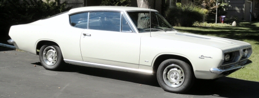 Photo of 1967 Plymouth Barracuda Fastback