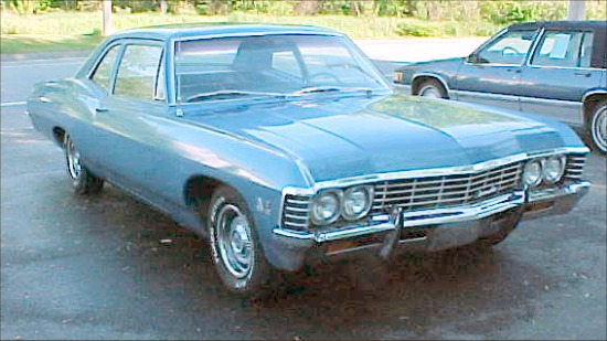 1967 Chevrolet Biscayne 2dr Sedan