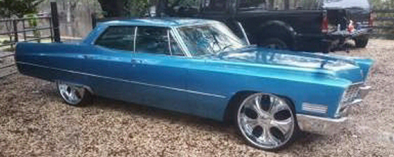 Photo of 1967 Cadillac Deville 4DR HT With Rebuilt Motor