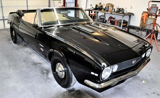 Photo of 1967 Chevrolet Camaro Convertible Pro-Touring With 427