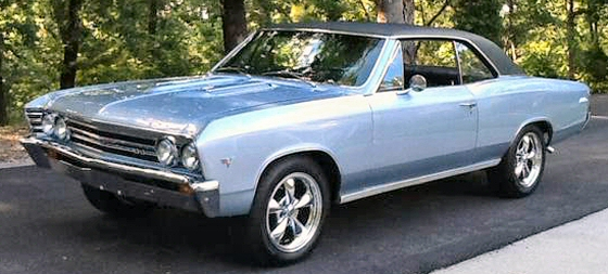 Photo of 1967 Chevrolet Chevelle Malibu 2 DR HT