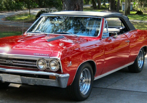Photo of  1967 CHEVELLE CONVERTIBLE SS CLONE RESTORED