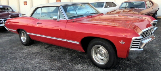 Photo of 1967 Chevrolet Impala Convertible
