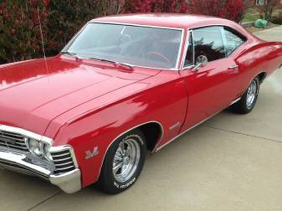Photo of 1967 Impala Super Sport With 396