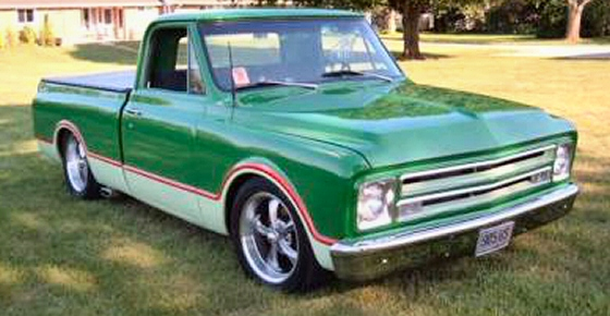 Photo of 1967 CHEVY SHORT BED PICKUP WITH 396 BIG BLOCK