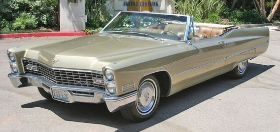 1967 Cadillac De Ville Convertible