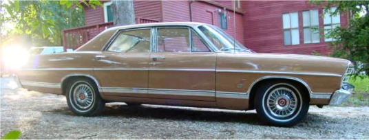 1967 Ford Galaxie 500 Sedan