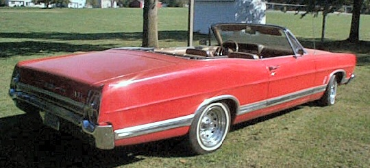 1967 Ford Galaxie XL - Convertible 390 CI, Automatic,