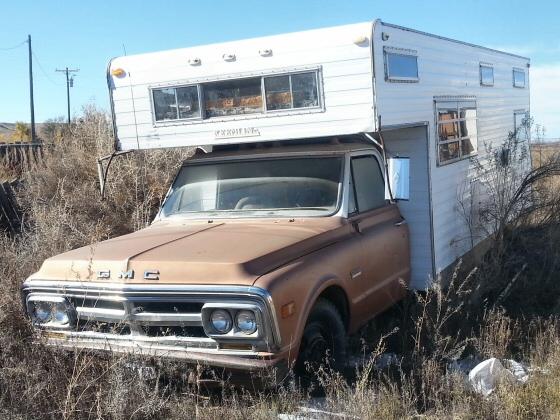 1967 GMC 3500 Camper Project