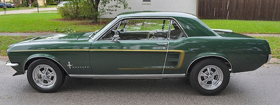 1967 Mustang Show Or Cruise Car