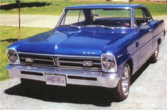 1967 PONTIAC ACADIAN CANSO SD