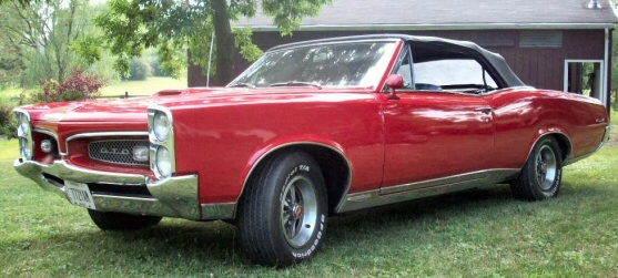 Photo of 1967 Pontiac GTO Convertible