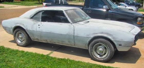 1968 Camaro Roller Project Autos Post