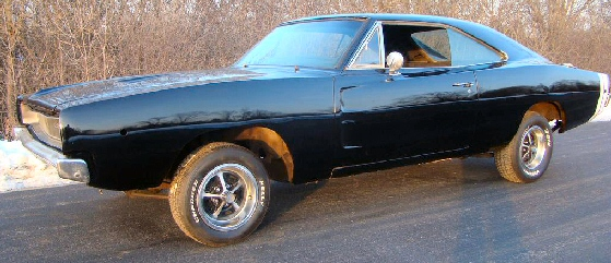 1968 Dodge Charger 4 Sd Project Car