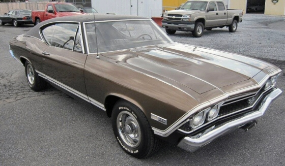 Photo of 1968 Chevrolet Chevelle SS 396 Coupe Numbers Matching