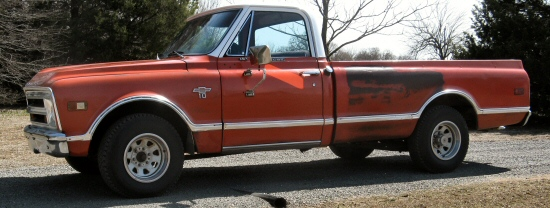 1968 Chevy CST-10 LWB Custom Pickup  Truck