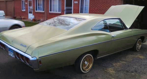 Photo of 1968 Chevrolet Impala Custom Classic 2 DR Coupe