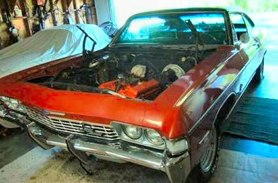 Photo of 1968 Chevy Impala 2 DR HT SS Clone Project