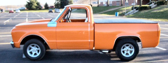 1968 Chevy shortbed truck