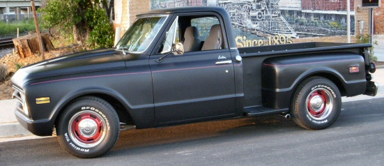 1968 Chevy Pickup Rat Rod
