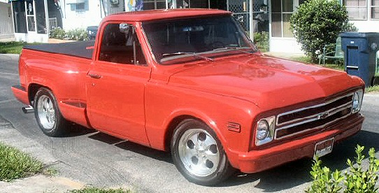 1968 Chevy C110 Short Bed Pickup Street Rod