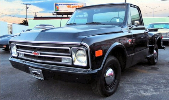 Photo of 1968 Chevrolet Step Side Pick Up Truck With Rebuilt Drivetrain