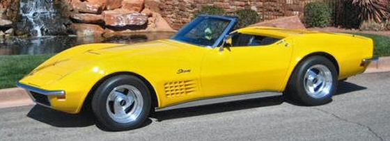 Photo of 1968 Corvette Hardtop/Convertible With 68,700  Miles