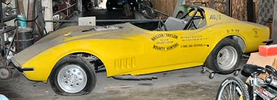 Photo of 1968 Corvette Vintage Funny Car Roller