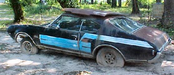 1968 Olds Cutlass 2 DR